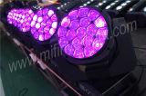 2017年19PCS*15W RGBW 4in1 LEDの蜂の目の移動ヘッド