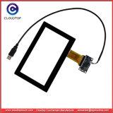 Lo schermo di tocco del USB da 7 pollici con il supporto di tecnologia di Pcap Multi-Tocca e Windows compatibile Linux CT-C8050