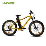 250W-1000W Mountain bicicleta eléctrica de 26 pulgadas con neumáticos de grasa