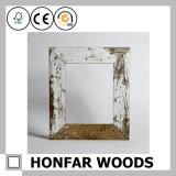 Rustikale graue festes Holz-Bilderrahmen für Weihnachtsgeschenk