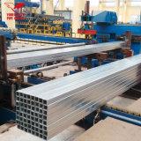 Berühmtes rohr-galvanisiertes quadratisches Stahlrohr des Marken-Zubehör-direkt ASTM A120 grosses der Größen-ERW Stahlder frau-Square Tube Hot-rolled