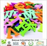 Números coloridos 26 cartas DIY sentida para decoração