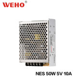 Nes-50W série avec ce RoHS approuvé 5V 10A 50W Alimentation CCTV