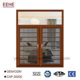 Окно двери европейского типа алюминиевое с Mullion алюминиевого окна
