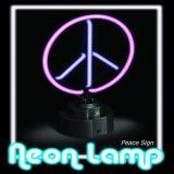Neue Art kundenspezifische bunte Zeichen-Neonlampe des Friedens2017