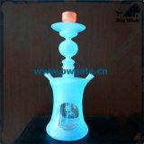 Tubo flessibile a gettare del narghilé Bw1-153, fumo di vetro dei tubi di acqua
