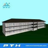 모듈 호텔 건물로 Prefabricated 가벼운 강철 별장 집