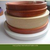 Profil de PVC de couleur solide pour le bord de meubles