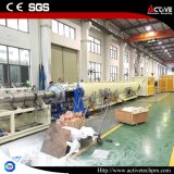 Ligne à double vis conique PROFIL PVC tuyau en PVC extrudeuse