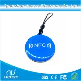 Printable RFID resistente al agua T5577 de 125 kHz de la etiqueta clave epoxi
