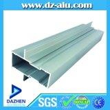 Profil en aluminium en aluminium d'extrusion pour le profil de porte de guichet de l'Algérie 40 séries