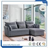 China-gute Qualitätsnützliche echtes Leder-Sofa-Bett-Hauptfabrik