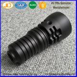 Anodisierende Aluminiumfackel zerteilt Präzisions-Taschenlampe CNC-maschinell bearbeitendrehenteile