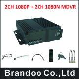 4CH HD bewegliche DVR 4G Optionen des mobilen DVR Unterstützungs128gb Ableiter-Karten-Fahrzeug-