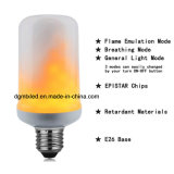 E26/E27 chama trémula lâmpadas LED