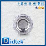 Valvola di ritenuta filettata duplex dell'elevatore dell'acciaio inossidabile di Didtek