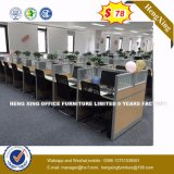 Table de bureau moderne de haute qualité du mobilier de bureau Bureau supérieur en verre (HX-8NR0013)