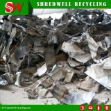 Desfibradora de acero del azulejo del desecho automático para el reciclaje inútil del metal