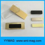 Het Plastiek van uitstekende kwaliteit bedekte het Magnetische Naamplaatje van het Kenteken van de Naam voor Verkoop met een laag