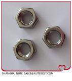 Noix principales DIN 934-1987 d'hexagone