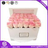 Caixa de presente retangular da flor da matéria- prima da alta qualidade