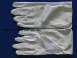 クリーンルームの働きのためのPUの上塗を施してある帯電防止手袋