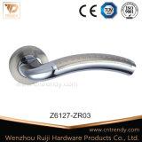 실내 나무로 되는 자물쇠 손잡이, 로즈 (z6122-zr11)에 아연 손잡이
