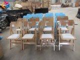 Starkes weißes Harz, das im Freiengarten-Stühle Hly-RS049 faltet