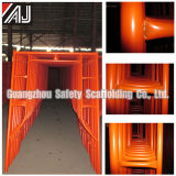 Stahlbaugerüst der schicht-Q235 für inneren und äußeren Aufbau