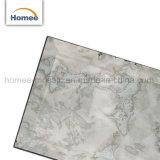 Abgeschrägte glasig-glänzende graue dekorative Wand-Spiegel-Glasglasfliese-Glasuntergrundbahn-Mosaik-Fliese