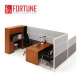 Stazione di lavoro moderna del cubicolo dell'ufficio della persona delle forniture di ufficio 2 (FOH-SS3050-3134)
