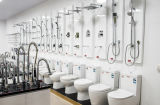 La fin en céramique de prise de dos de lavage à grande eau de filigrane a accouplé la toilette