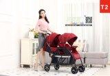 2017 heißer Verkäufe Luxury& Form-Baby-Spaziergänger-BabyPram für Zwilling-Baby