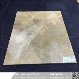 De lichtgele Kleur Verglaasde Marmer Opgepoetste Tegel van de Vloer van het Porselein (VRP6H120)