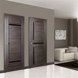 Folheado de compósitos com revestimento laminado porta MDF Lave o interior da porta de madeira