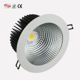 Cortar o teto Recessed 11W Downlight de Dimmable do dispositivo elétrico do diodo emissor de luz da ESPIGA de 105mm