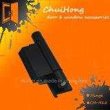 Porte de matériel de meubles de bonne qualité et charnière en aluminium de guichet (CH-H12)
