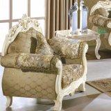 Sofá de tecido fixado com mesa para Sala de mobiliário (929M)