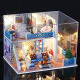 Деревянная кукла дом с диваном - Дизайн в миниатюрные камеры