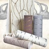 PVC moderno Wallcovering, papel de empapelar del PVC, tela de la pared del PVC, papel pintado del PVC