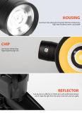 Regelbare LEIDENE van de Stralingshoek van de Huisvesting van het Aluminium van China van Ce*RoHS Tracklight