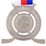3D Kenteken van de Douane van de Fabriek van de Medaille van het Metaal van de Herinnering Antieke Zilveren