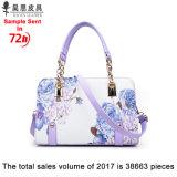 Les stocks d'usine de Guangzhou et sans aucune MOQ 2018 Style Chinois nouvelle PU Designer de mode en cuir femmes femelle Mesdames fourre-tout sac à main