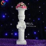La sculpture de marbre Pot de fleur de plomb de la route pour le jardin