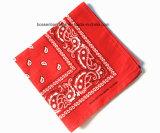 Pañuelo de encargo de Headwrap del algodón de la impresión de Paisley del producto de la fábrica de China
