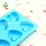 100 % du silicone de qualité alimentaire de 8 à la cavité du moule de chocolat Heart-Shaped