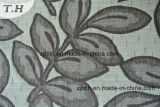 자카드 직물 잎 디자인 셔닐 실 자카드 직물 직물
