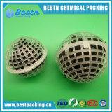 排水処理PPの多孔性の中断された球の生物注入口の球