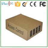 Rectángulo de la fuente de alimentación del control de acceso con el espacio de la batería y sin la batería