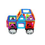 Spielwaren-Dreieck-Quadrat-Hexagon-Diamant-Form des Block-198PCS pädagogische magnetische